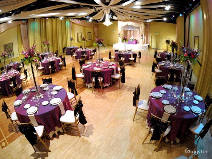 Upscale Ballroom in Sacramento Photo 3