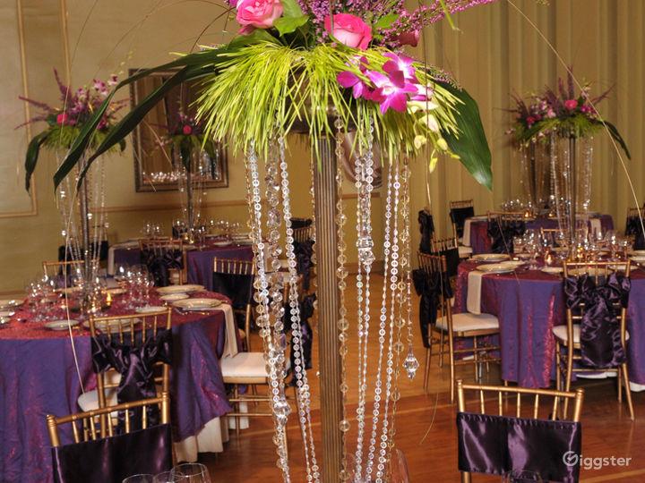 Upscale Ballroom in Sacramento Photo 4