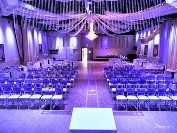 Upscale Ballroom in Sacramento Photo 5
