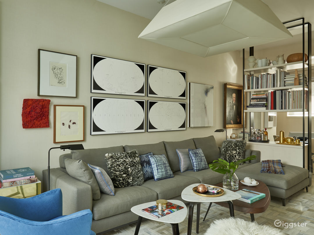 Contemporary Brooklyn apartment: Location 5091 Photo 1