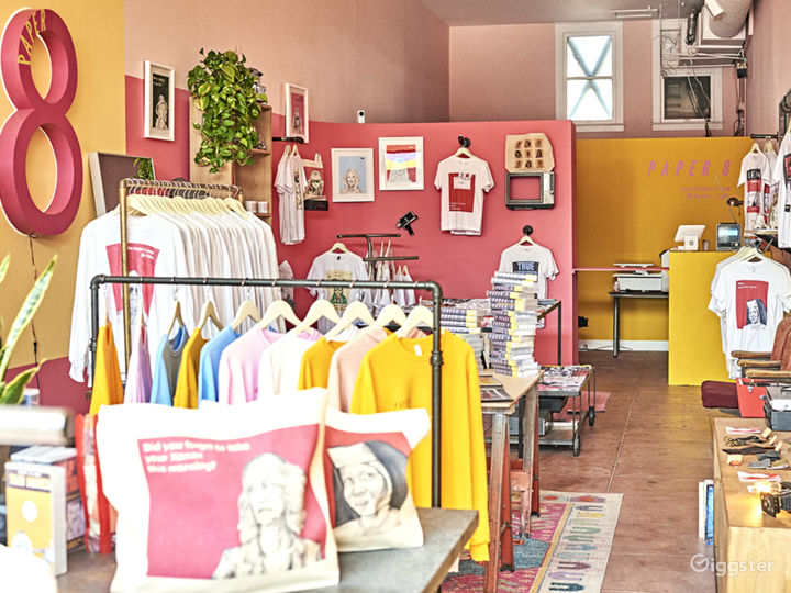 Retro Movie Apparel Storefront in Hollywood Photo 2