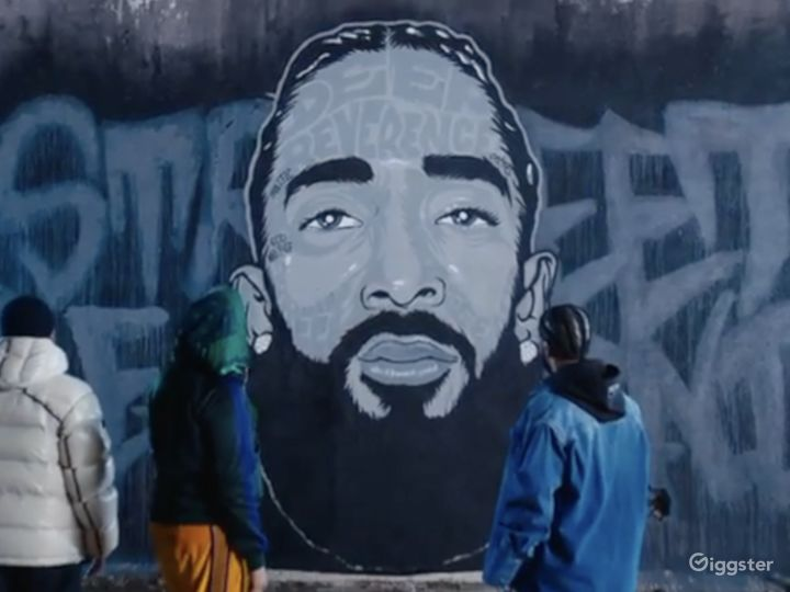 Graffiti + Urban Industrial Walls for Filming  Photo 2
