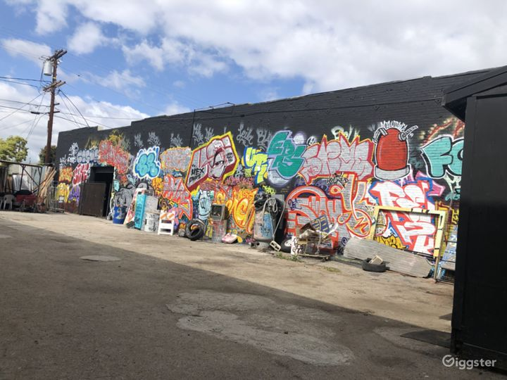 Graffiti + Urban Industrial Walls for Filming  Photo 3