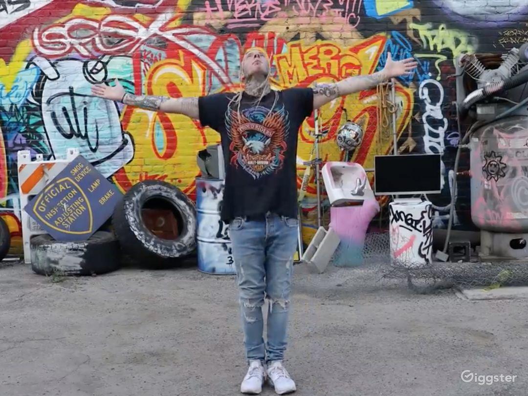 Graffiti + Urban Industrial Walls for Filming  Photo 4