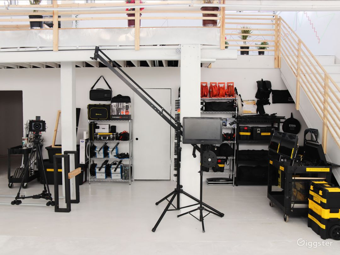 Lower Level, equipment is available for rent