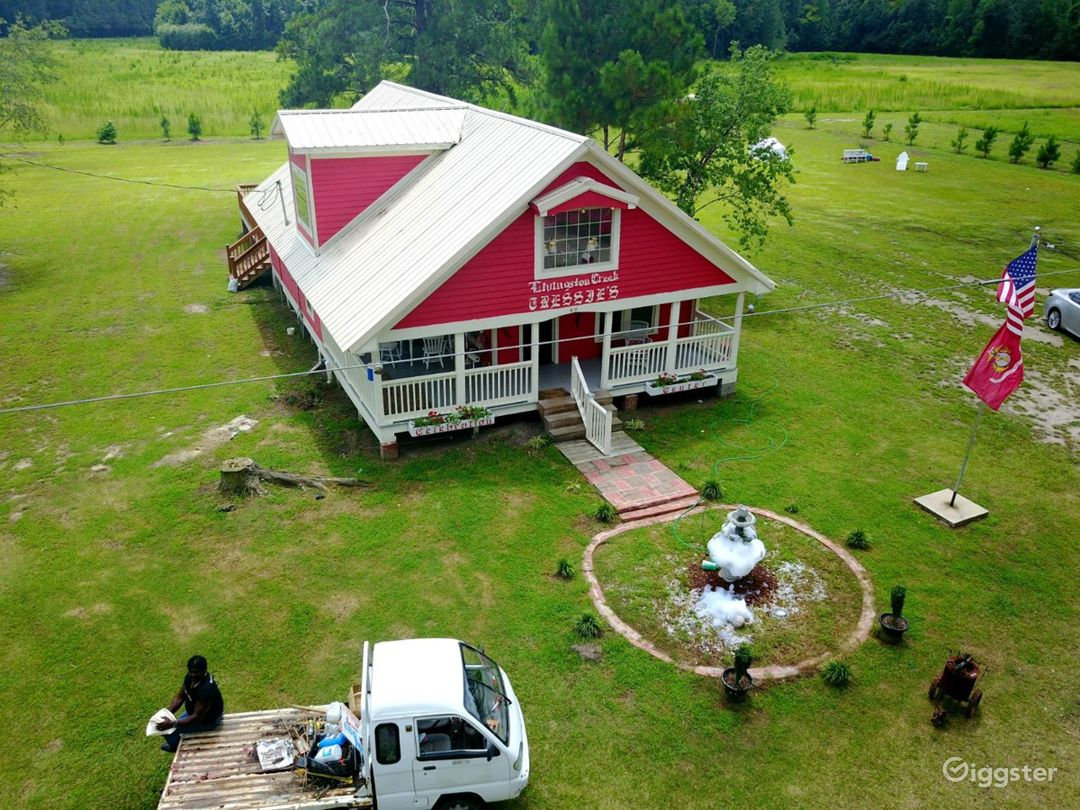 Tressie's Celebration Center - a century old farmhouse on one hundred acres of farm and forestry that is loaded with country charm!