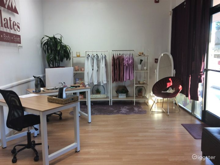 Peaceful, Bright, and Light Fitness Studio Photo 2