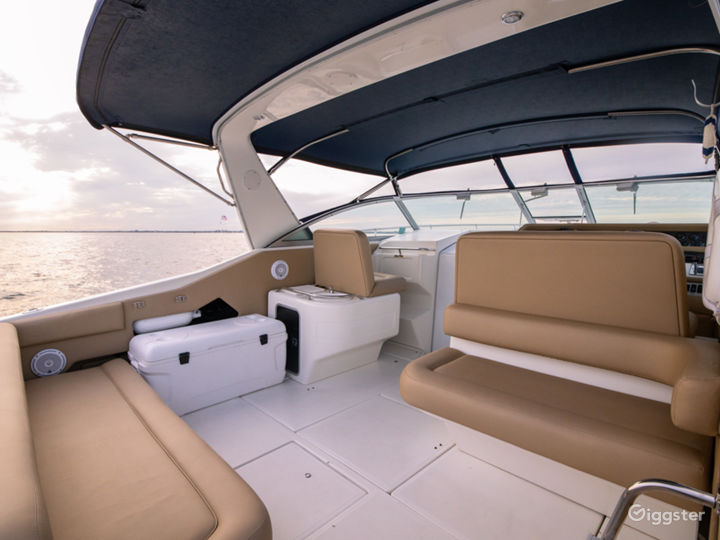 Stylish 40ft Sea Ray Party Yacht Space Events Photo 2