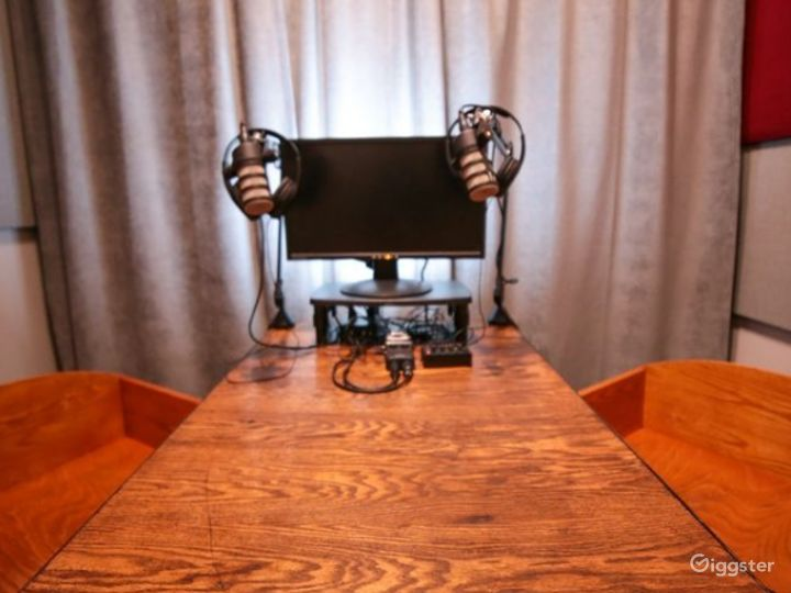 Ultra-Modern Podcast Studio Photo 2