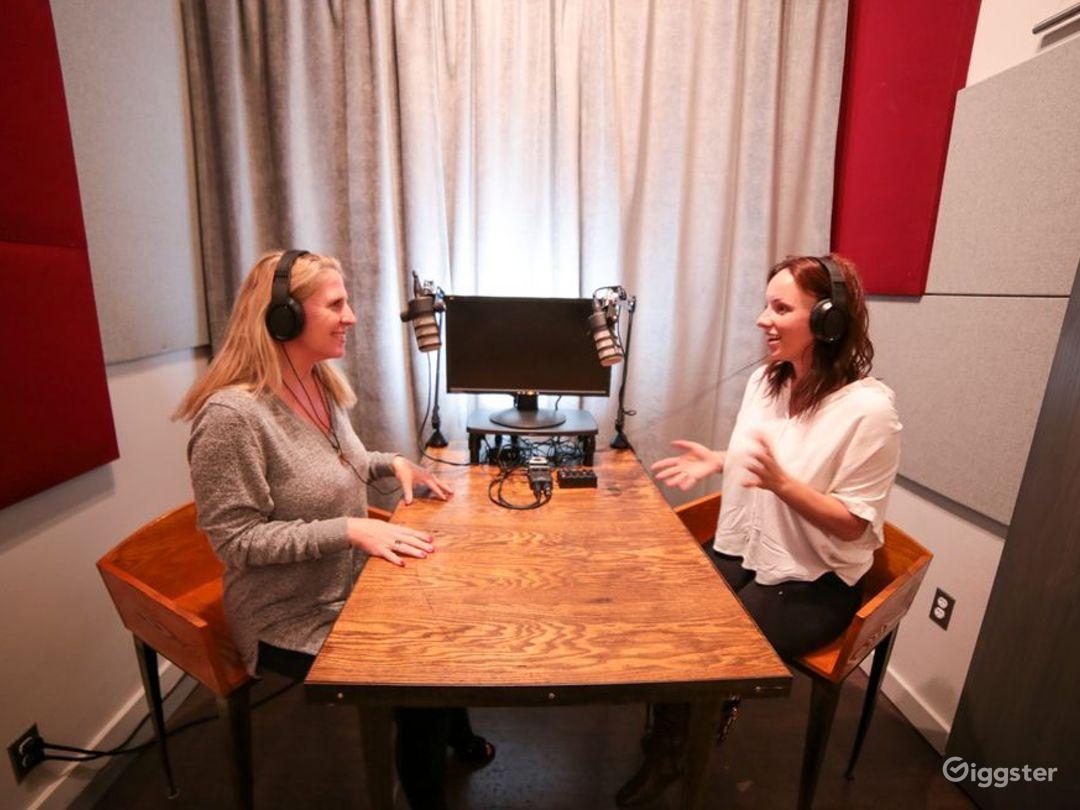 Ultra-Modern Podcast Studio Photo 1