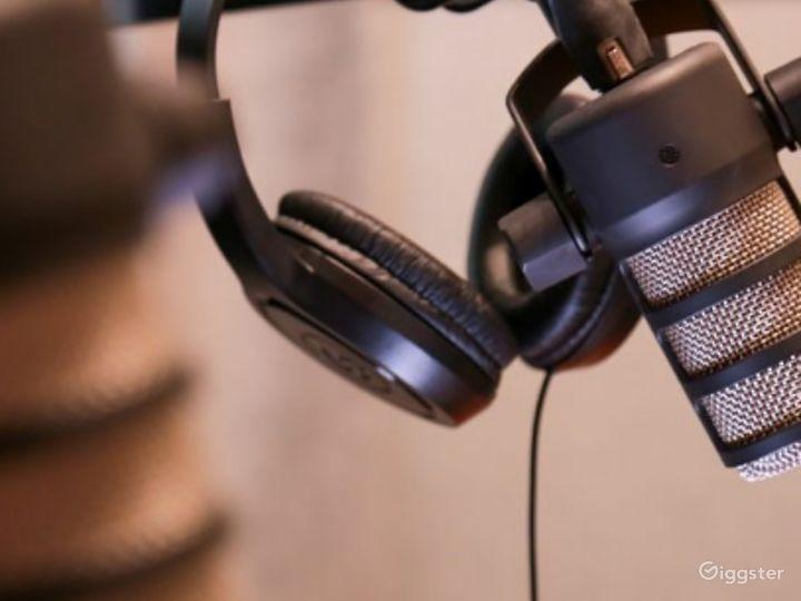 Ultra-Modern Podcast Studio Photo 3