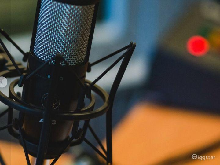 Ultra-Modern Podcast Studio Photo 4