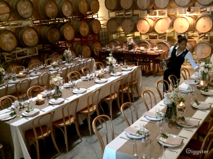 Urban Winery | Barrel Room | Event Venue