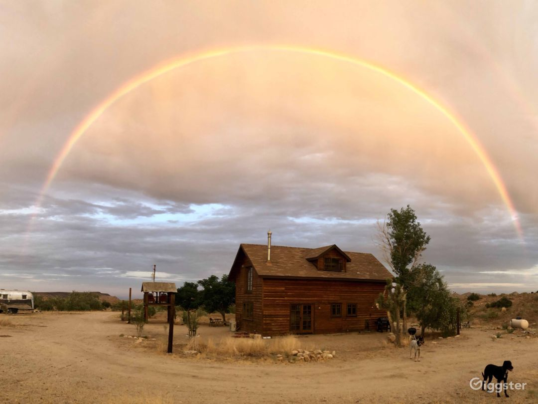 A Magical Rainbow over Riot Material Ranch