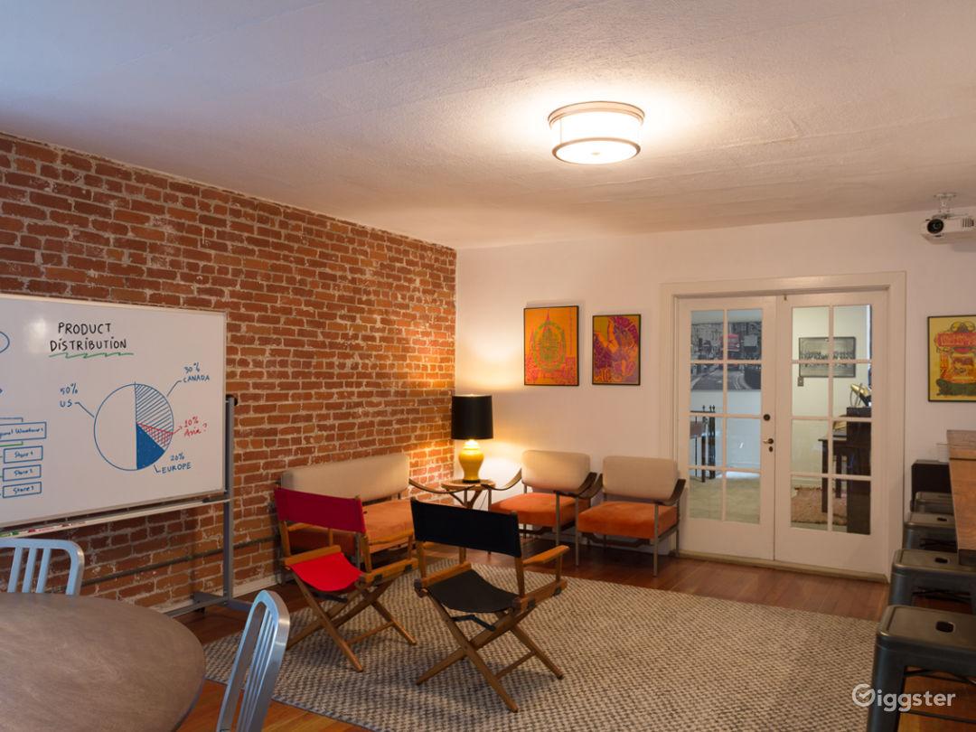 Brick Room // Screening, Meeting, Fitting Room Photo 1