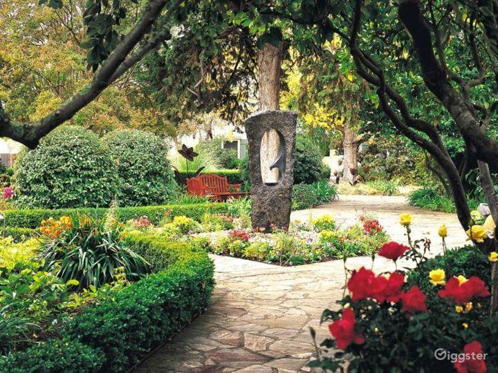 Beautiful Garden Event Space in Sonoma