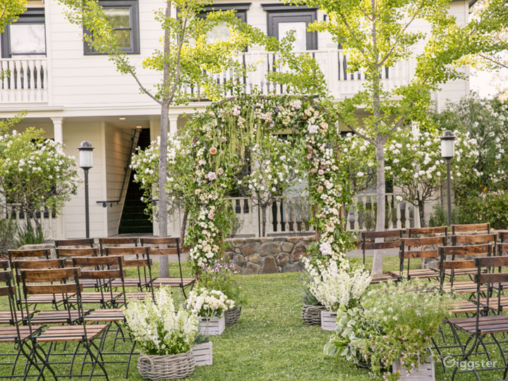 Beautiful Garden Event Space in Sonoma Photo 4