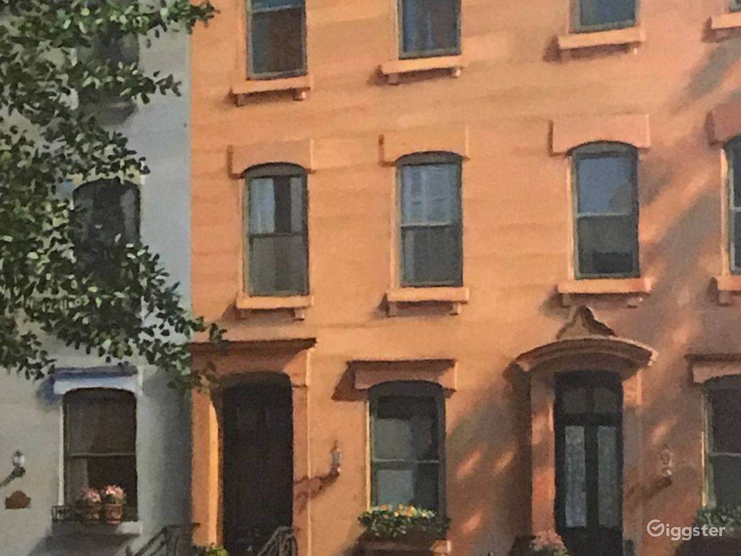 1884 Brownstone with amazing front stoop on beautiful tree lined street filled with history and additional beautiful brownstones