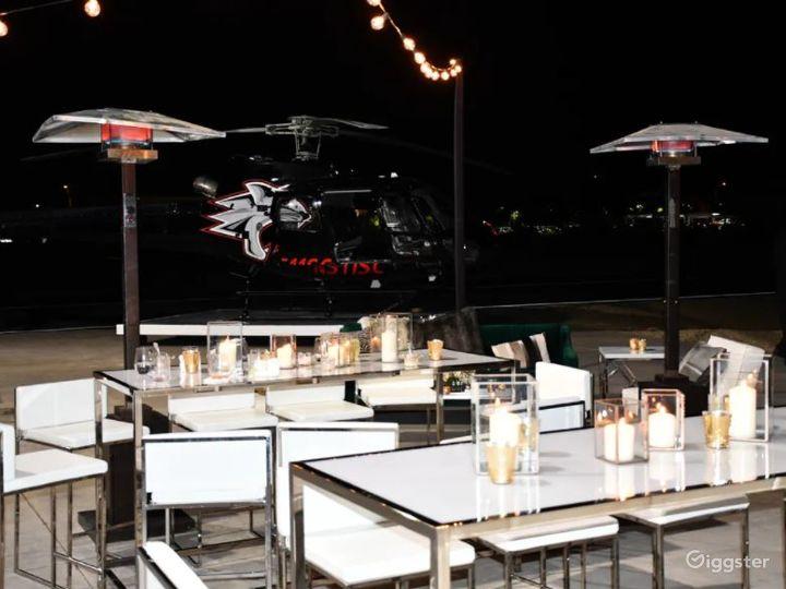 Unique Heli Hangar Exclusive Venue Photo 2