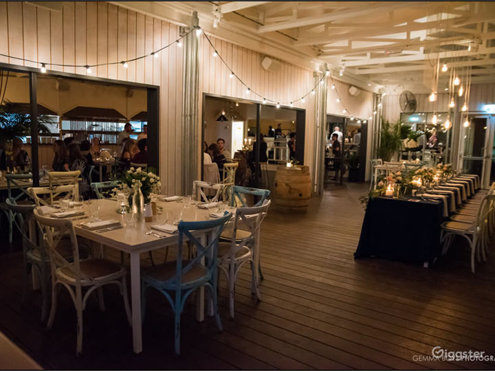 The Boathouse with a Rustic and Beachy Setting Photo 5