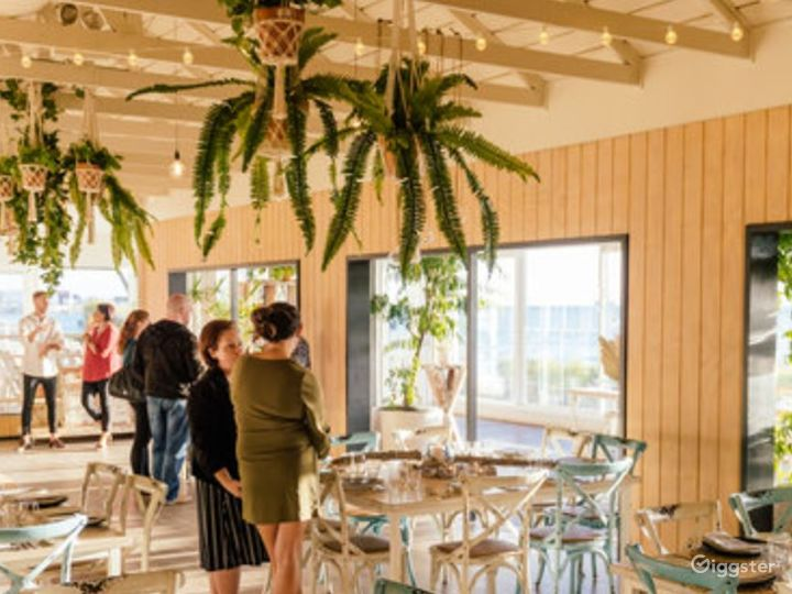 The Boathouse with a Rustic and Beachy Setting Photo 2