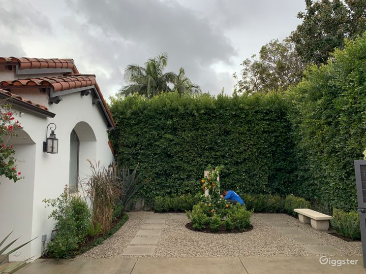 West Hollywood Mediterranean home with cabana  Photo 2