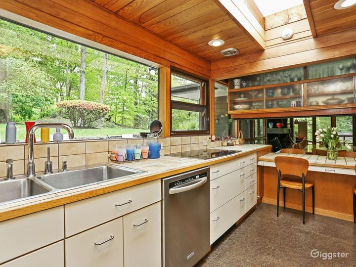 Mid Century Modern Home: Location 5170 Photo 4