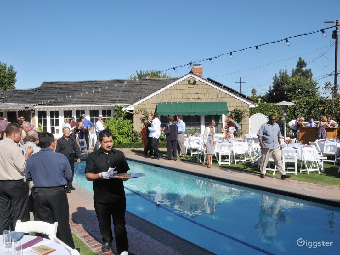 Wedding, 120 guests, back yard