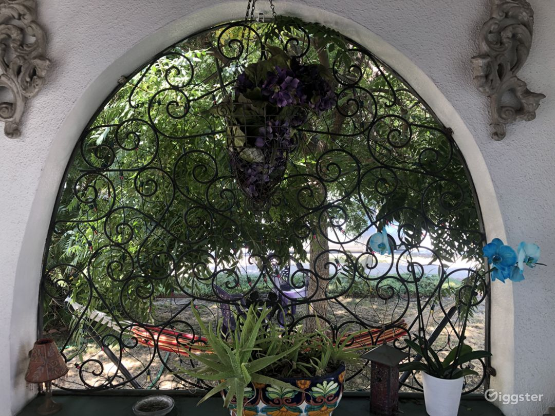 Front Porch Arch View