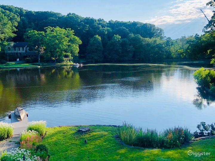 Beautiful lake Woodrock