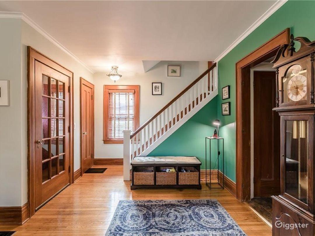 Rare, beautiful, original wood Craftsman House NY Photo 2