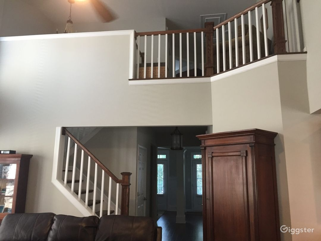 Family Room Stairs