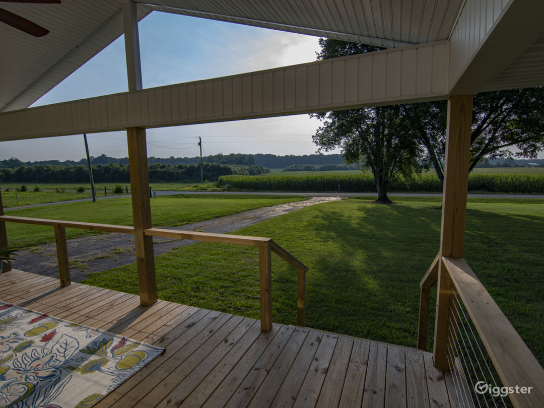 view off the front porch