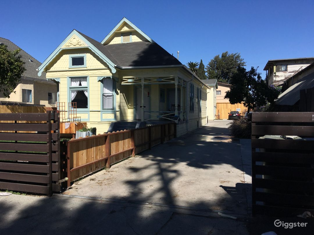 Historic Queen Anne Victorian Home in LA Photo 3
