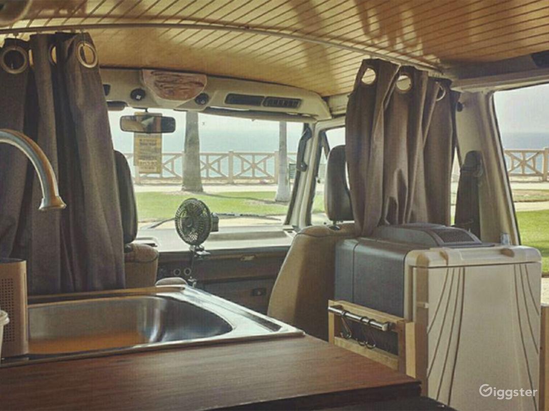 Epoch Restorations and Adventures 1986 Volkswagon Vanagon. Vintage / Classic van rental: Los Angeles, Orange County, Ventura County, Santa Barbara, San Diego.