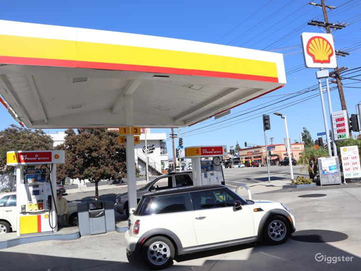 Gas Station for filming  Photo 3