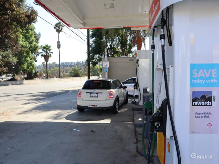 Gas Station for filming  Photo 5