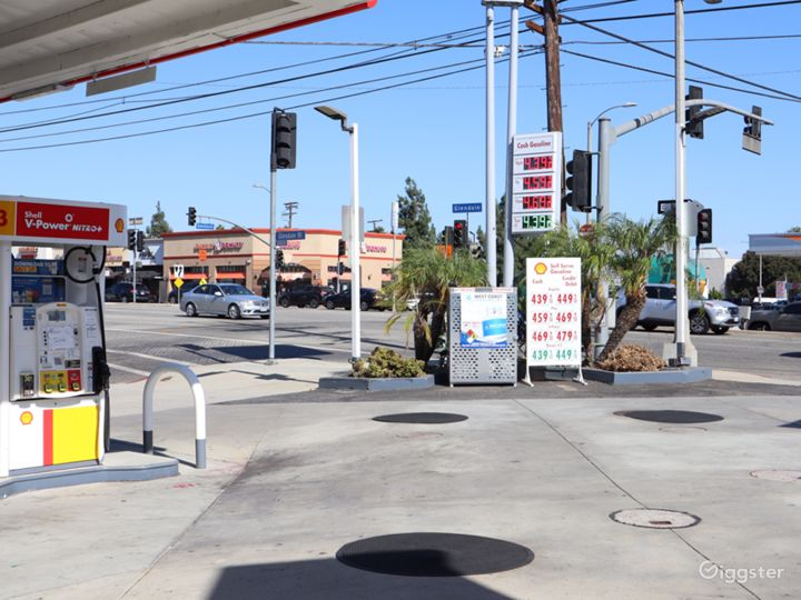Gas Station for filming  Photo 4