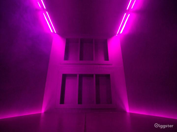 Futuristic Dark Silver Cube Photo 5