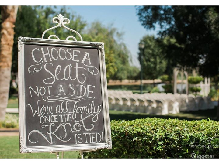 Romantic Grass with Trees venue II in Shafter Photo 3