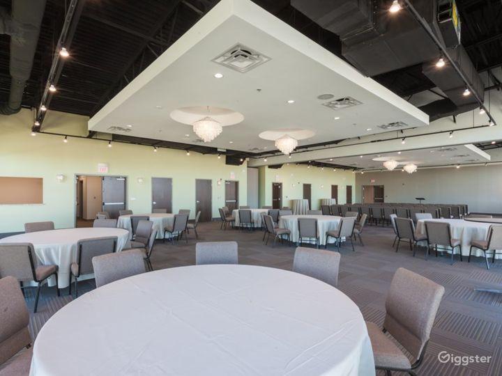 Cascades Overlook Event Center - Elegant Grand Ballroom  Photo 5