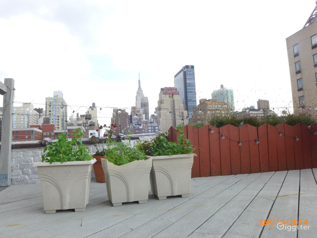 Rooftop With Midtown NYC View Photo 3