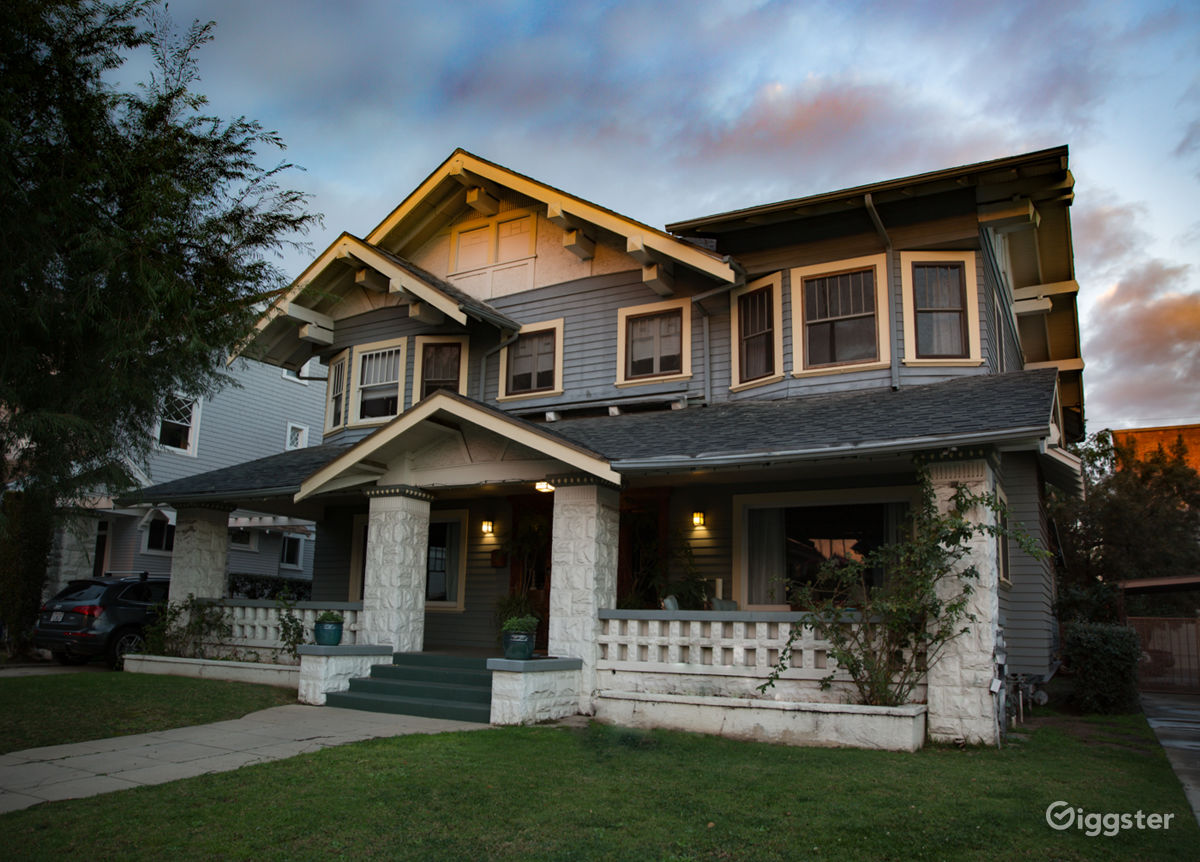 Rent Film Friendly Historic Craftsman Home House residential for