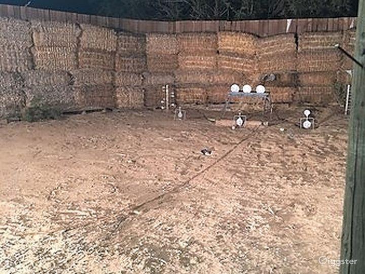 Wild West pistol target shooting range Photo 5