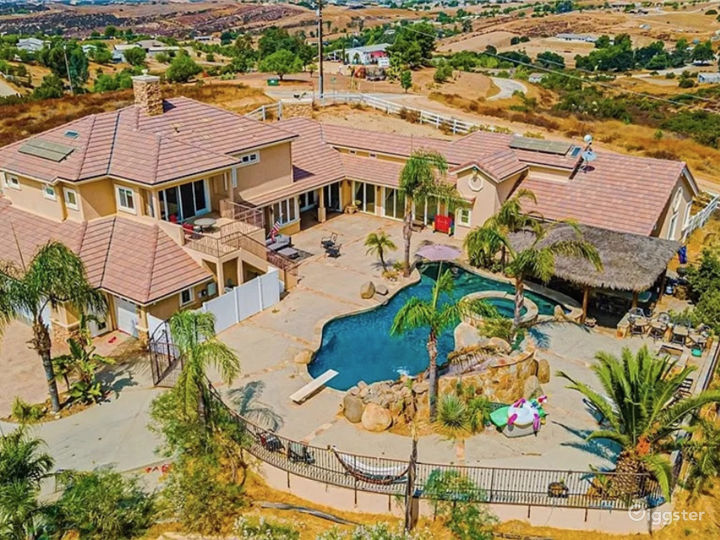 Overhead of Residence & Pool