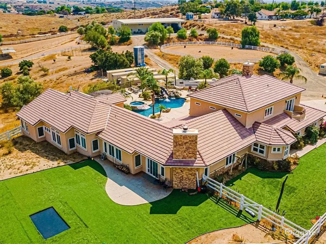 Overhead of Residence and Turf