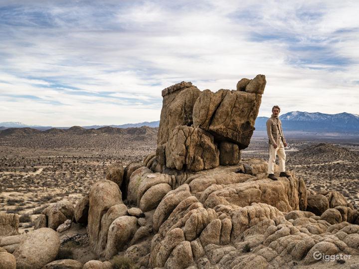 Desert and Boulders