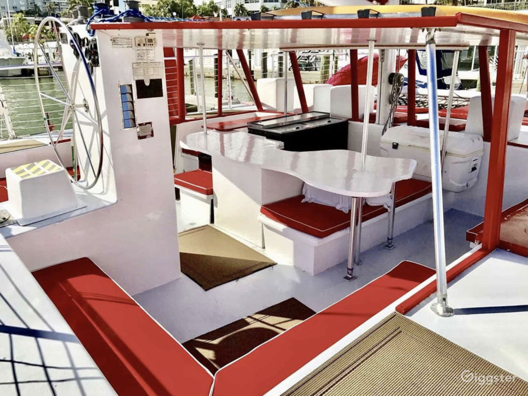 Relaxed and Spacious 49FT CATAMARAN Party Boat Space Events  Photo 1