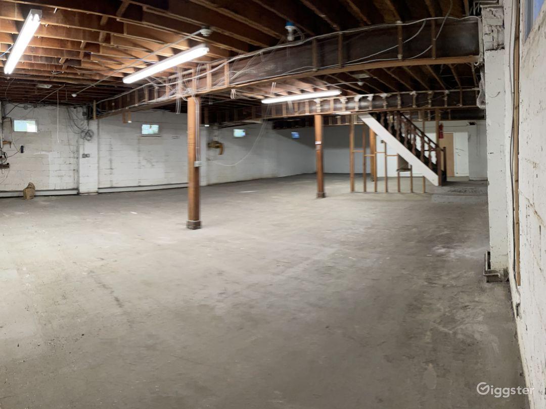 2000 sq ft basement High ceilings