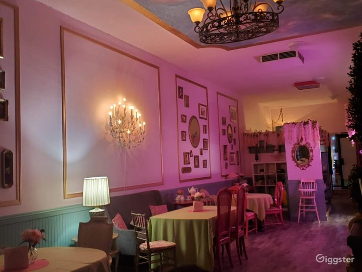 Whimsical Tea Room/Event Room in historical area.  Photo 2
